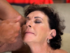 Granny obtaining pounded