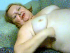 Beautiful granny masturbate 1