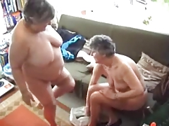 One Grannies Try Out their..