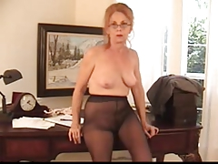 Hairy Insistent Granny in..