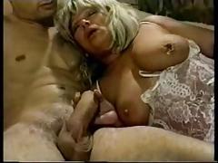 Granny With Pierced Nipple