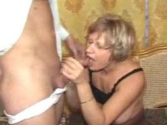 German mature mother and..