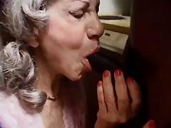 My granny sucks black cocks