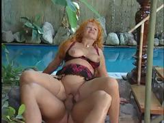 Sex Encircling Mature Redhead