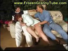 granny redhead fucking