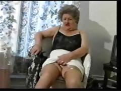 Teasing Grey Granny In..