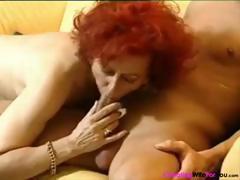 German redhead mature..