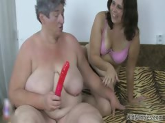 Hellacious old whore gets..