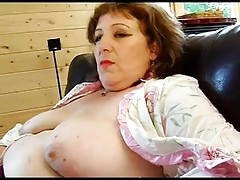 FRENCH MATURE n52a anal bbw..