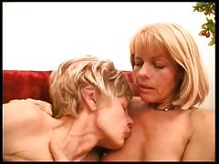 Two matures lesbians