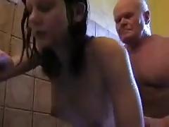 Mireck 80yo fucks Claudia..