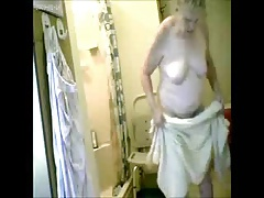 Watch my granny fully naked..