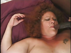 Fat And Furry Redhead Granny..