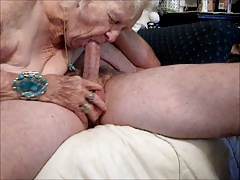 OLD Granny Bang! Suck! SEXY..