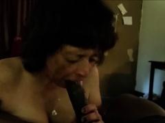 Granny Loves Sucking Black..