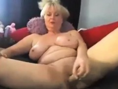 Sexy well-endowed granny..