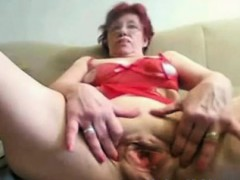 Asian amateur granny toys..